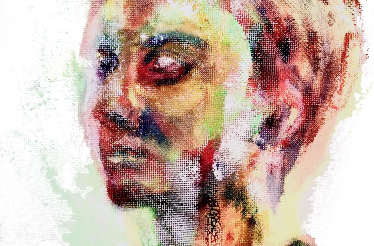 Anibal Kostka colorful Head